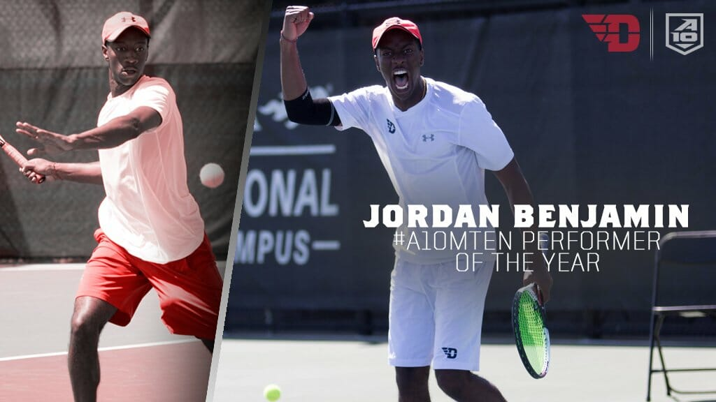 Jordan Benjamin '15: Making History for Dayton Flyers Tennis