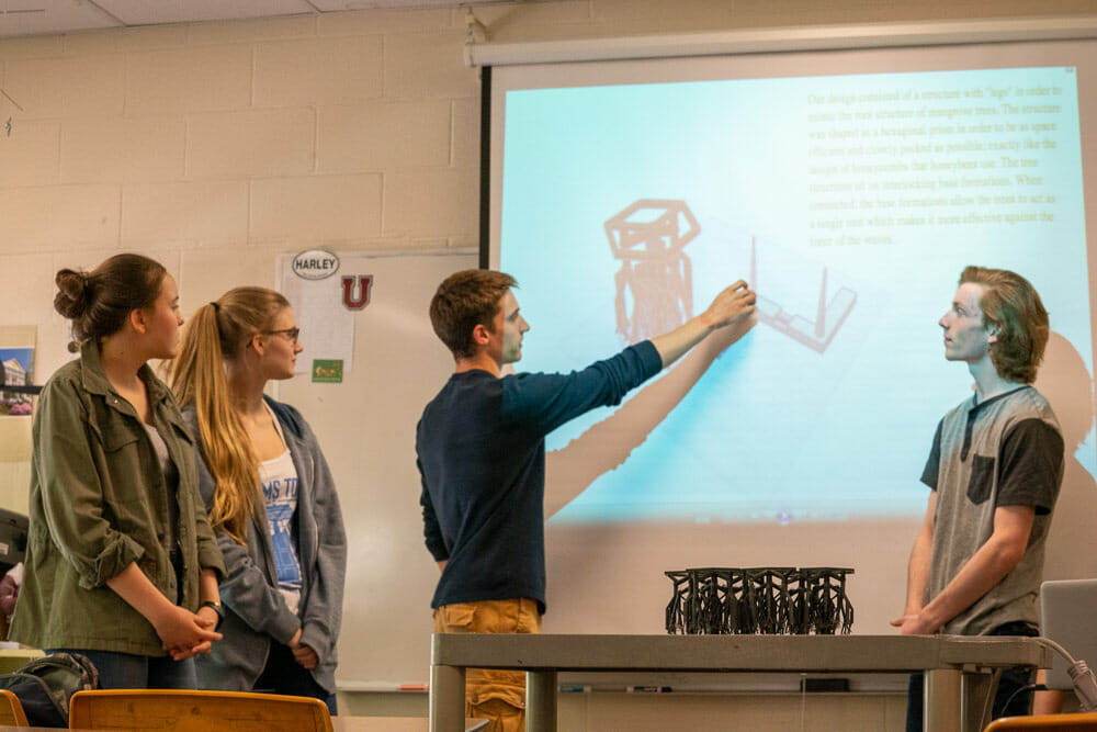 Biomimicry Global Design Challenge: The Harley School's Biomimicry Club Places Third with huMANGROVE
