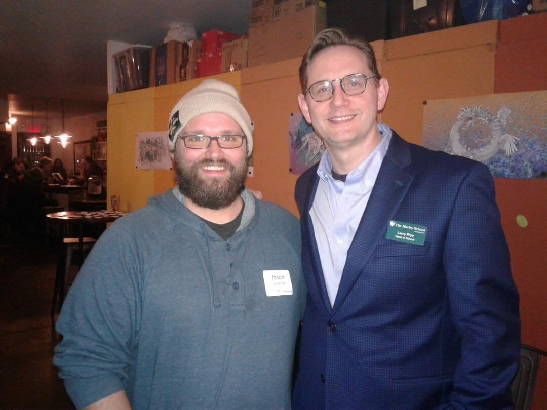 Jason Sahler '96 hosted us at Strong Rope Brewery in Brooklyn, NY