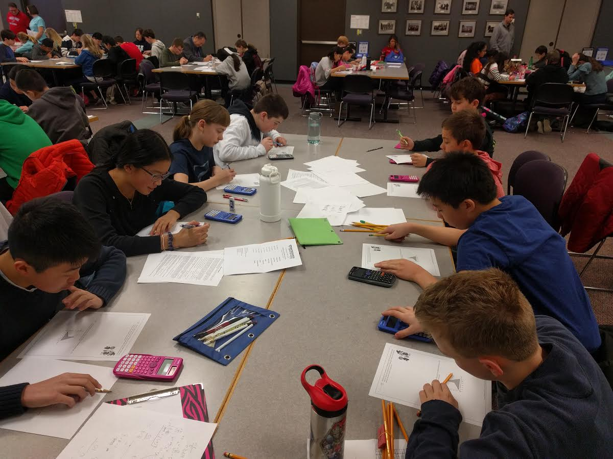 Middle School MathCounts Team Competes at RIT